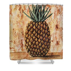 Maui Pineapple Shower Curtain by Darice Machel McGuire