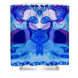 Meditation Shower Curtain by Omaste Witkowski