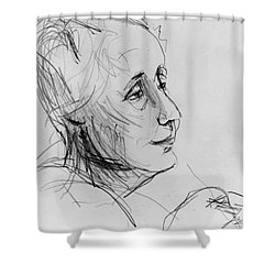 Melanie Klein Shower Curtain by Granger