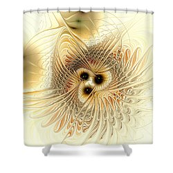 Meld Shower Curtain by Anastasiya Malakhova