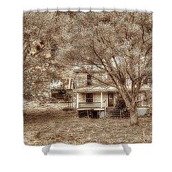 Memories Behind The Trees Shower Curtain by Dan Friend