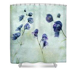 Memories Of Spring Shower Curtain by Priska Wettstein