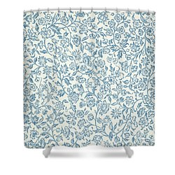 Merton Wallpaper Design Shower Curtain by William Morris