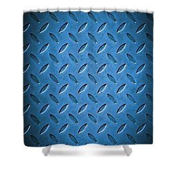 Metal Background Shower Curtain by Carlos Caetano