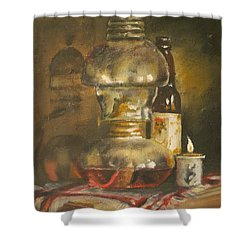 Mexico Shower Curtain by Mia DeLode