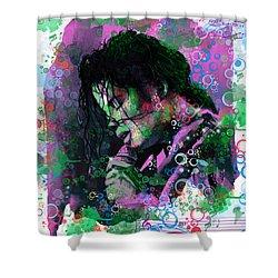 Michael Jackson 16 Shower Curtain by Bekim Art