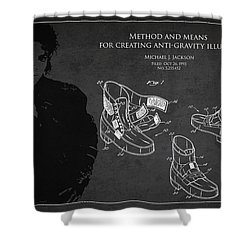 Michael Jackson Patent Shower Curtain by Aged Pixel