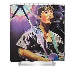 Micheal Kang Shower Curtain by Joshua Morton