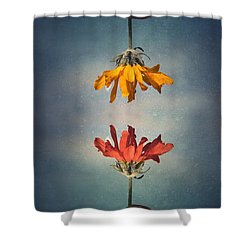 Middle Ground Shower Curtain by Tara Turner