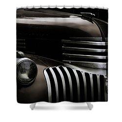 Midnight Grille Shower Curtain by Ken Smith