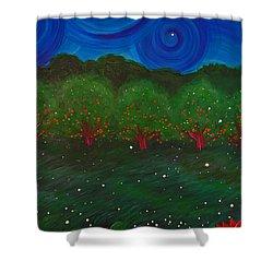 Midsummer Night By Jrr Shower Curtain by First Star Art