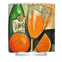 Mimosa Shower Curtain by Tim Nyberg