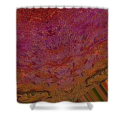 Mind Meld Shower Curtain by Jeff Swan
