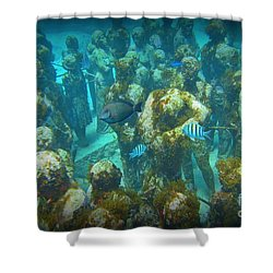 Mingling  Shower Curtain by Halifax Artist John Malone
