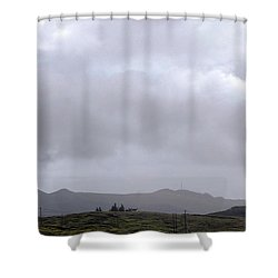 Shower Curtain featuring the photograph Minotaur Iv Lite Launch by Science Source