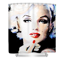 Mm 132 P  Shower Curtain by Theo Danella
