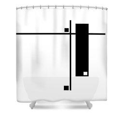 Moda 6 - Modern Art By Sharon Cummings Shower Curtain by Sharon Cummings