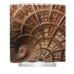 Modern Architecture  Shower Curtain by Heidi Smith