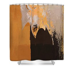 Modern From Classic Art Portrait - 01 Shower Curtain by Variance Collections