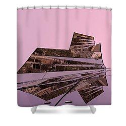 Modern Reflections ... Shower Curtain by Juergen Weiss