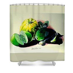 Mojito N.2 Shower Curtain by Alessandra Andrisani