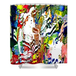 Moment Of Happiness Shower Curtain by Kume Bryant