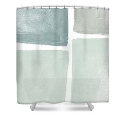 Momentary Crossroads Shower Curtain by Linda Woods