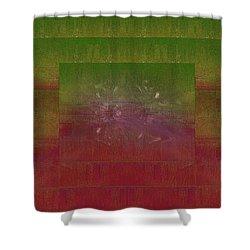 Momentum Shower Curtain by Tim Allen