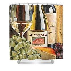 Mont Crystal 1988 Shower Curtain by Debbie DeWitt