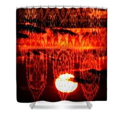 Moonlace Shower Curtain by PainterArtist FIN