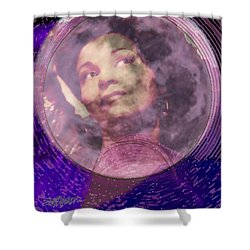 Moonlight Feels Right Shower Curtain by Seth Weaver