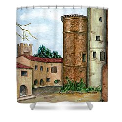 Morcone  Shower Curtain by Pamela Allegretto