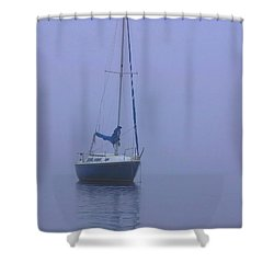 Morning Calm Shower Curtain by Karol Livote