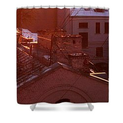 Morning Came Shower Curtain by Anna Yurasovsky