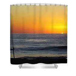 Morning Solitude Shower Curtain by Karen Wiles