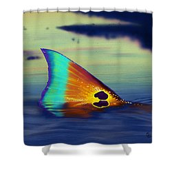 Morning Stroll Shower Curtain by Kevin Putman