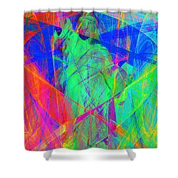 Mother Of Exiles 20130618 Long Shower Curtain by Wingsdomain Art and Photography