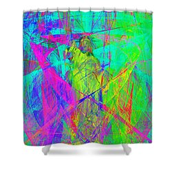 Mother Of Exiles 20130618m60 Shower Curtain by Wingsdomain Art and Photography