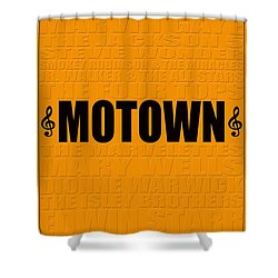 Motown Shower Curtain by Andrew Fare