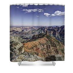 Mount Hayden Shower Curtain by Mike Herdering
