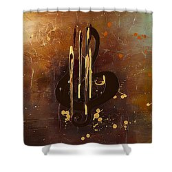 Music All Around Us Shower Curtain by Carmen Guedez