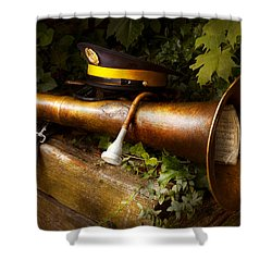 Musician - Untarnishable Reputation Shower Curtain by Mike Savad