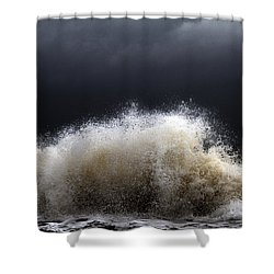 My Brighter Side Of Darkness Shower Curtain by Stelios Kleanthous