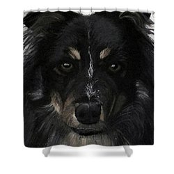 My Favorite Bud Shower Curtain by Sharon Duguay