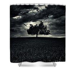 My Friends Shower Curtain by Stelios Kleanthous
