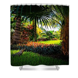 My Pal Iggy Shower Curtain by Robert McCubbin