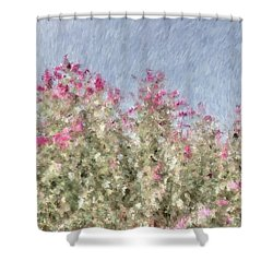 My Spring Garden - Impressionism Shower Curtain by Heidi Smith