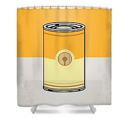 My Star Warhols 3cpo Minimal Can Poster Shower Curtain by Chungkong Art