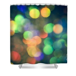 Myriad Shower Curtain by Jan Bickerton