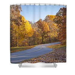 Natchez Trace Shower Curtain by Brian Jannsen